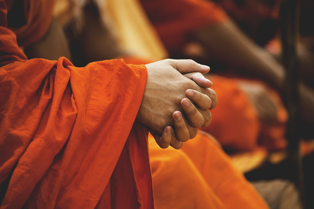 Spiritual Folded Hands