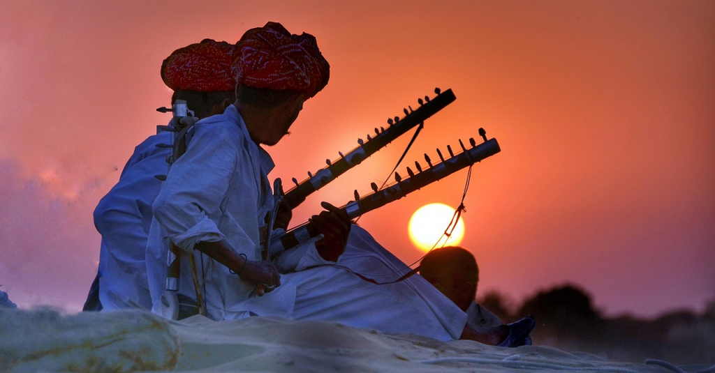 Rajasthani Folk in India