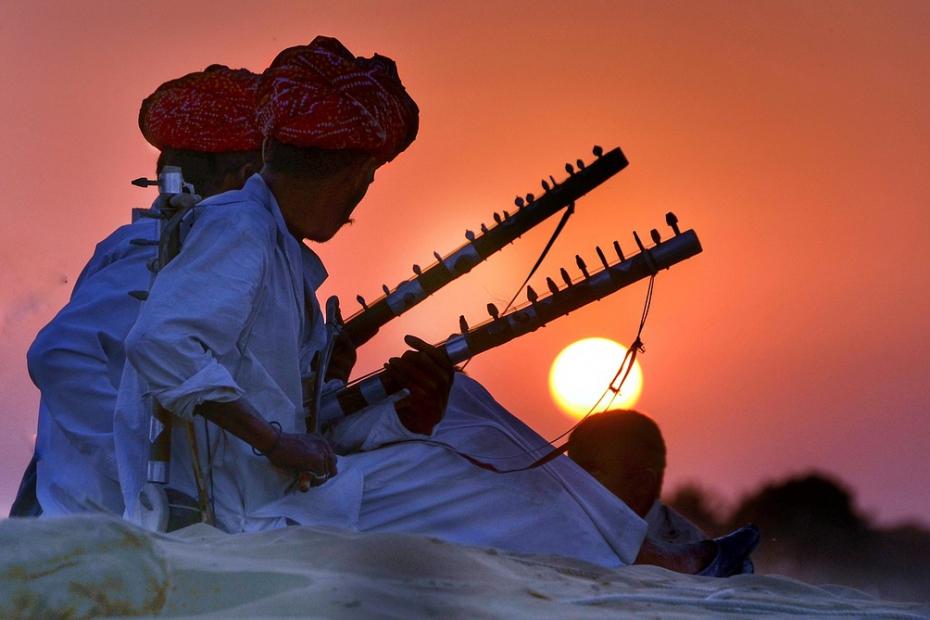 Rajasthani Folk in India